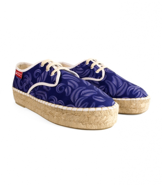 Esparto blucher espadrilles for woman