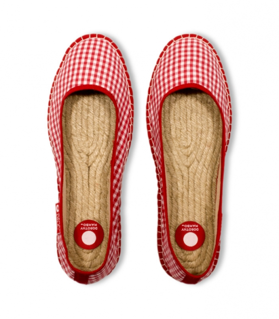 Esparto ballerina sandals espadrilles for woman