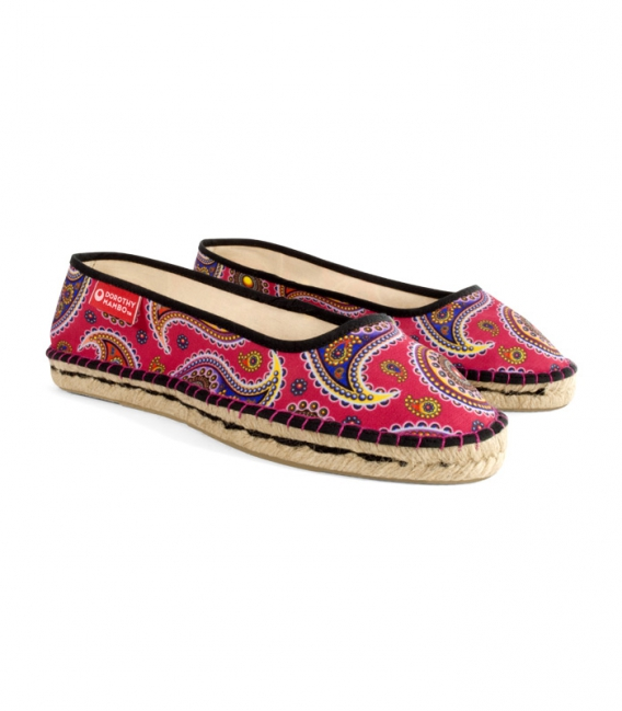 Esparto ballerina espadrilles for woman