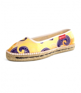 Jute sandals, esparto ballerinas espadrilles for woman