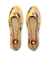 Esparto ballerinas sandals, jute espadrilles for woman