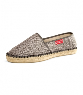 Jute camping sandals, esparto espadrilles for woman