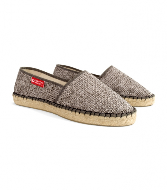 Jute esparto camping espadrilles for woman handmade in Spain