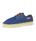 Women's platform espadrilles for Women BLUE JEANS