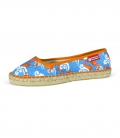Handmade moccasins espadrilles shoes for women KOI IN LOVE
