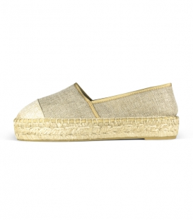 Jute platform sole camping espadrilles for women handmade with love in Spain