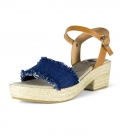 Heels espadrilles sandals for women SAINT TROPE
