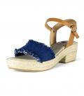Sandalias con tacón para mujer SAINT TROPE