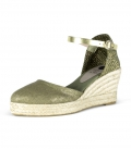 Jute wedge heel espadrilles for women ES VEDRÀ