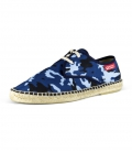 Men's lace up espadrilles with matching print CAMOUFLAGE