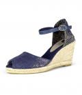 Jute wedge heel valencian espadrilles for women VERACRUZ