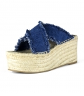 Heels espadrilles sandals for women HIGH JEANS