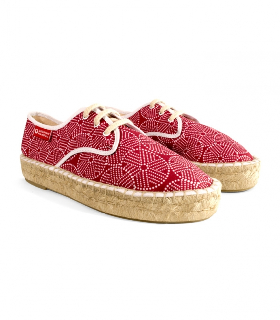 Esparto blucher espadrilles handmade with love in Spain