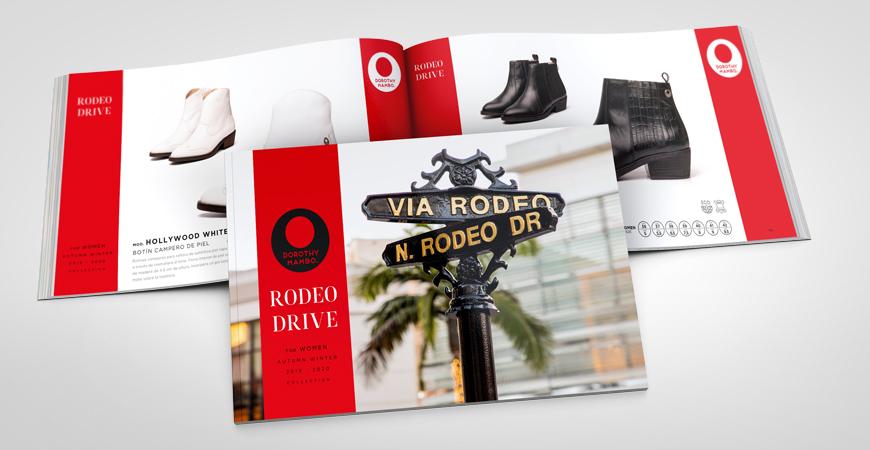 Catálogo colección de calzado otoño invierno para señora RODEO DRIVE
