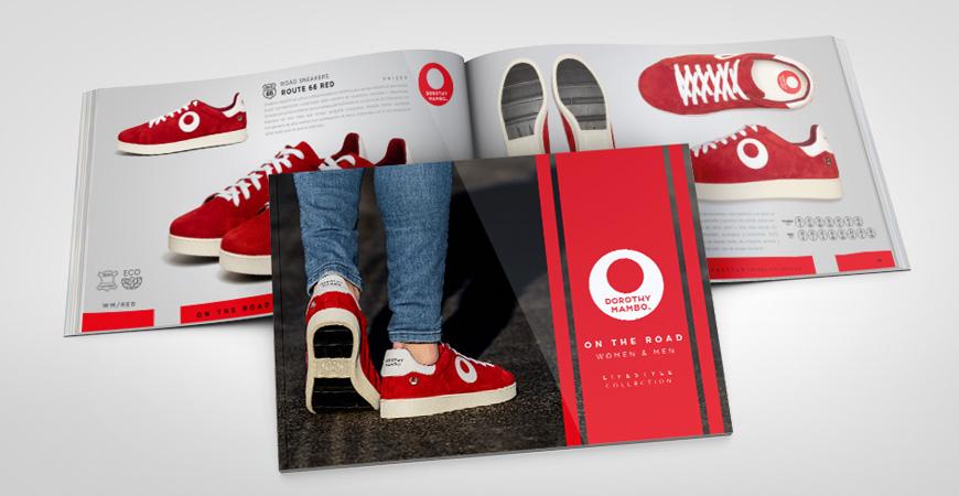 Catálogo profesional zapatillas deportivos sneakers de piel serraje con suela de neumático