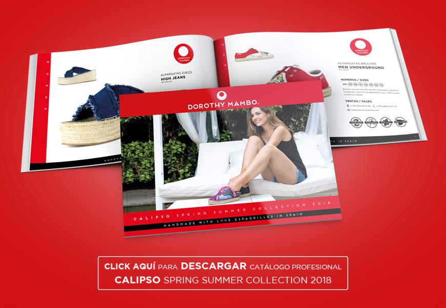 Descargar catálogo profesional alpargatas DOROTHY MAMBO colección CALIPSO