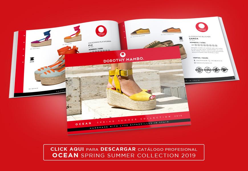 Catálogo profesional de alpargatas para mujer y hombre primavera verano 2019