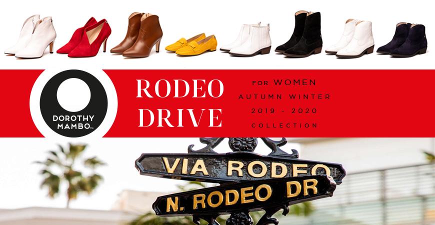 Presentamos la Nueva colección RODEO DRIVE otoño invierno 2019