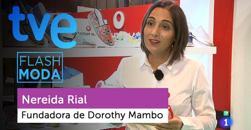 Las alpargatas DOROTHY MAMBO™ en Flash Moda de Televisión Española