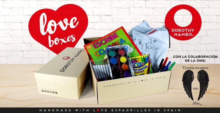 Dorothy Mambo llena de amor e ilusión estas navidades con sus LOVE BOXES