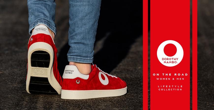 Presentamos la nueva línea de Sneakers unisex con suela de cubierta de neumático reciclado.