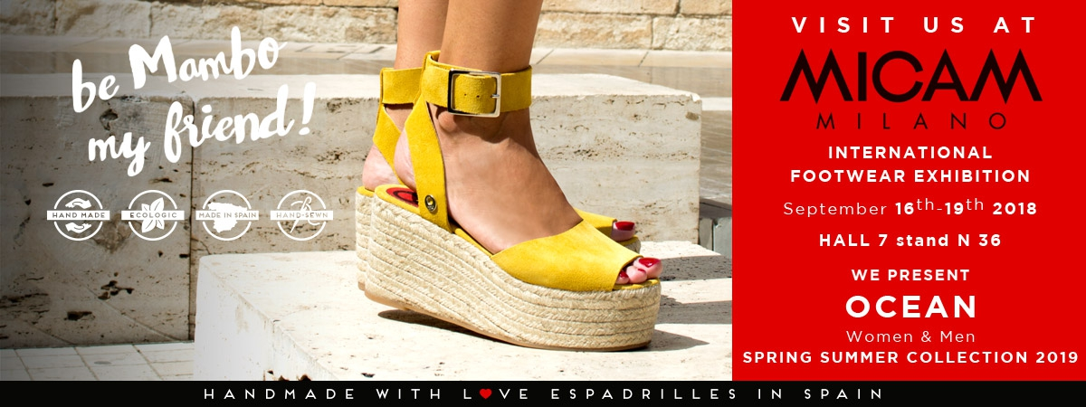 Espadrilles for Men and Women Made in Spain