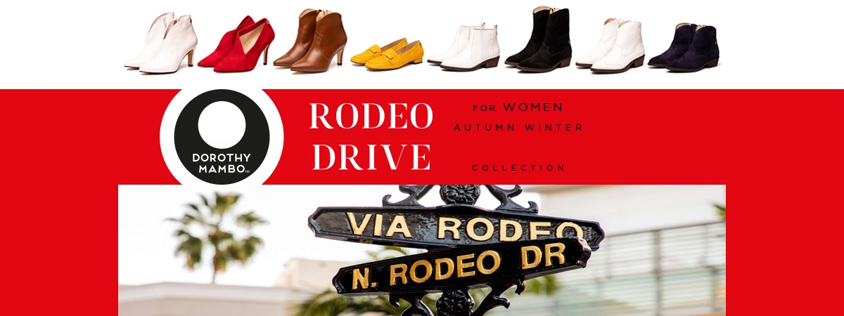 Rodeo Drive for women autumn winter 2019/20