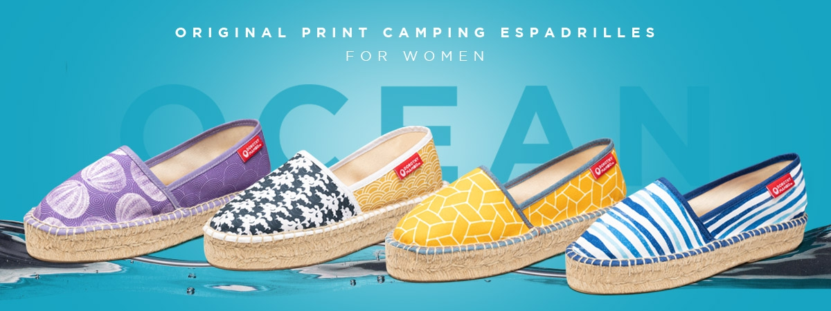 Espadrille Wedges & Sandals for Women made in Spain